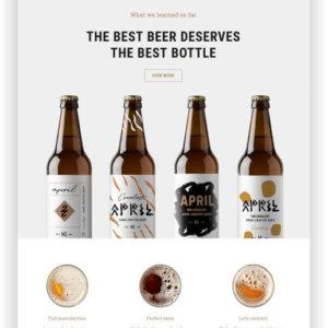 WordPress Craft Beer Theme