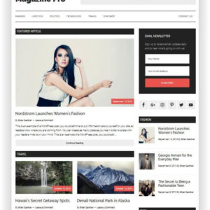 WordPress Magazine Pro Theme