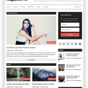 WordPress Magazin Vorlage