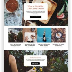 WordPress Wellness Theme
