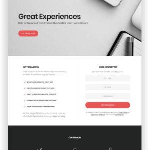 WordPress Landing Page Digital Pro