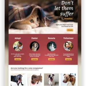 WordPress Animal Shelter Theme