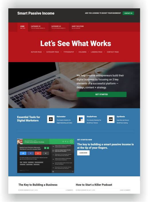 WordPress Affiliate Marketing Theme