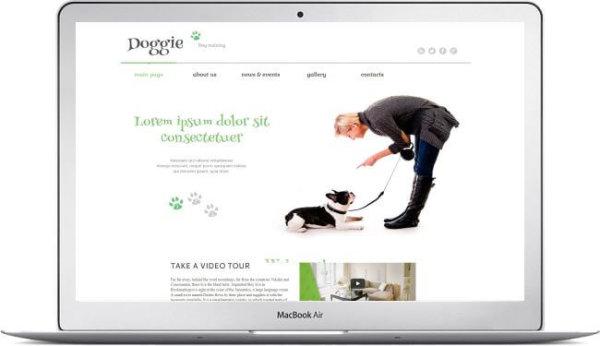 WordPress Dog Training Theme
