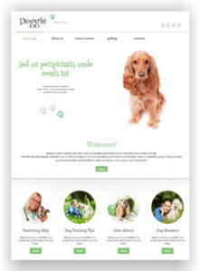 WordPress Dog Training Theme