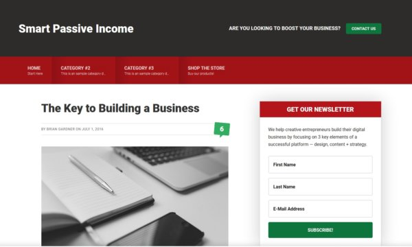 WordPress Affiliate Marketing Theme