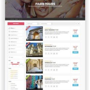 Webseite für Stadtrundfahrten