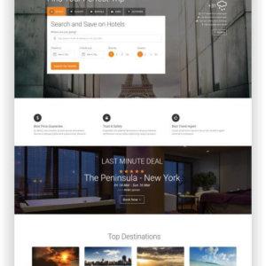 HTML Buchungswebseite