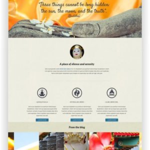 Joomla Buddhist Website