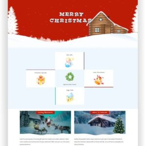 Joomla Christmas Template