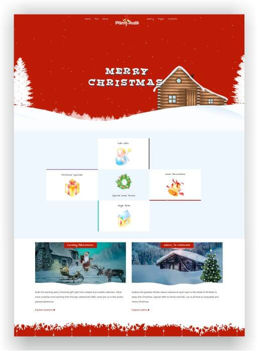 Joomla Christmas Template
