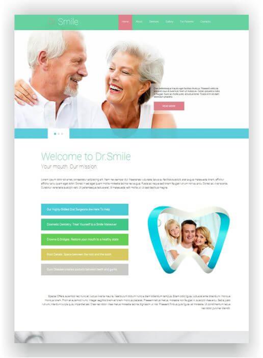 Joomla Dental Clinic Template