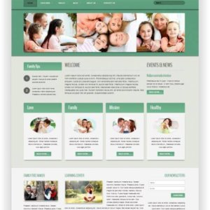 Joomla Family Care Template