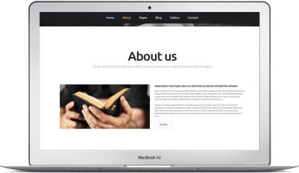 Religiöse Webseite