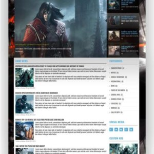 Joomla Games Template