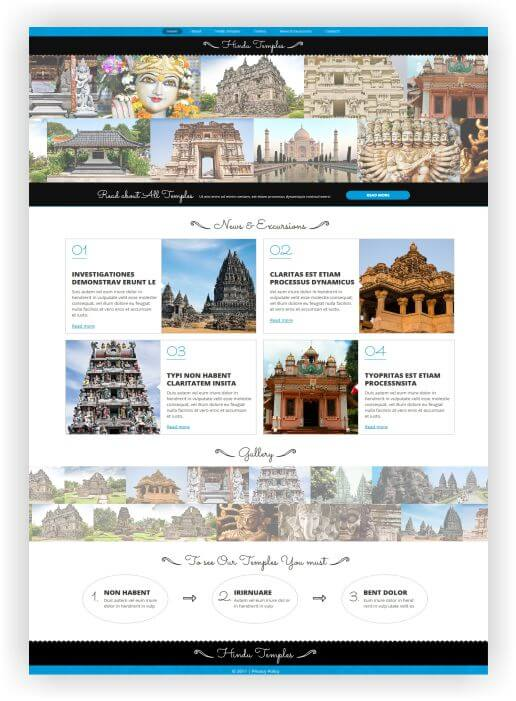 Joomla Hinduism Template