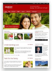Joomla Church Template