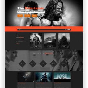 Joomla Film Webseite