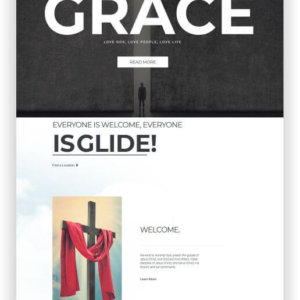 Joomla Free Church Template