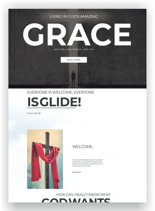 Joomla Free Church Template