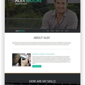 Joomla Freelancer Template