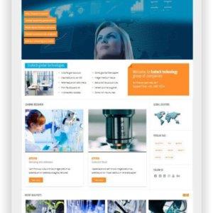 Joomla Blog Template Ecotech