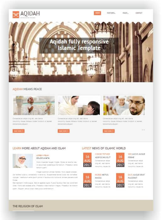 Islamische Webseite