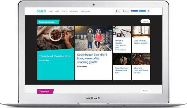 WordPress Deals Website Theme