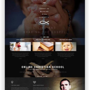 WordPress Christian Church Theme