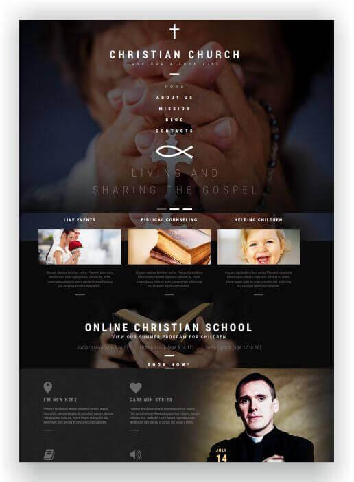 WordPress Christian Church Theme