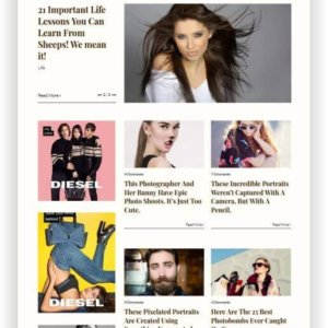 WordPress Portfolio Magazine Theme
