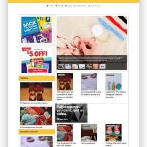 WordPress Craft Magazine Theme