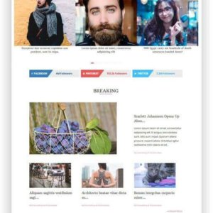 Fast loading WordPress Magazine Theme