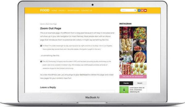 WordPress Recipe Magazine