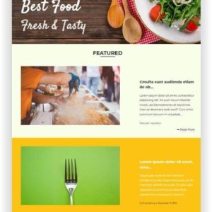 WordPress Recipe Magazine