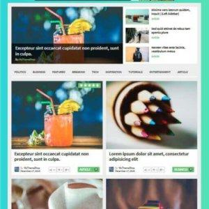 Elegantes WordPress Magazin Thema