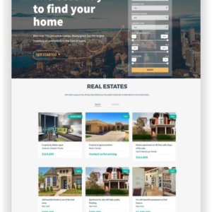 WordPress Immobilien Suchmaschine