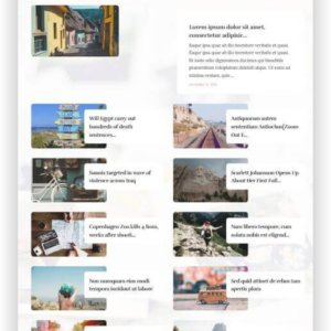 WordPress Travel Magazine Lifestyle