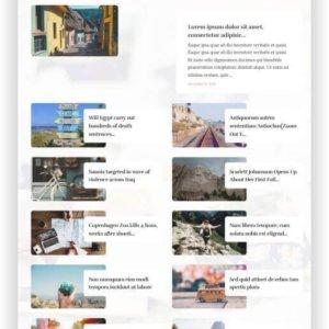 WordPress Reise Magazin