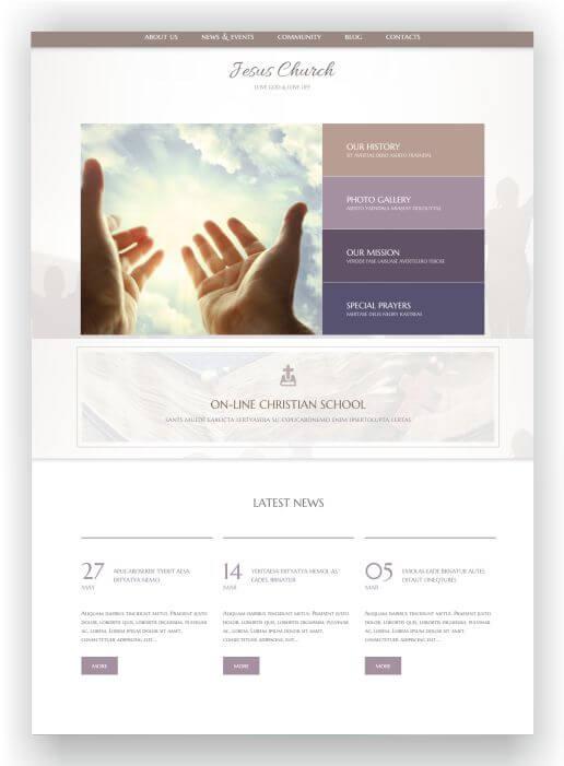 Christian WordPress Theme