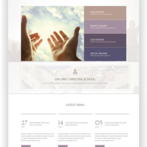 Christian WordPress Theme