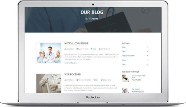 HTML Health Care Template