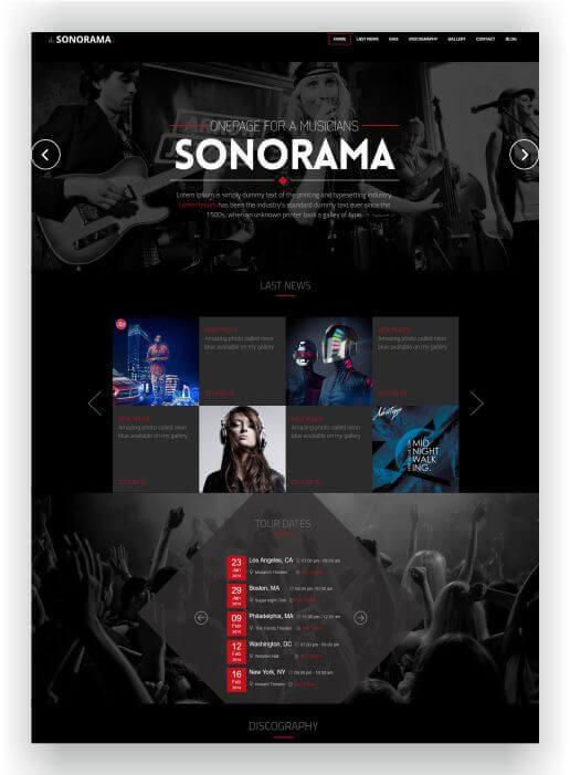 HTML Music