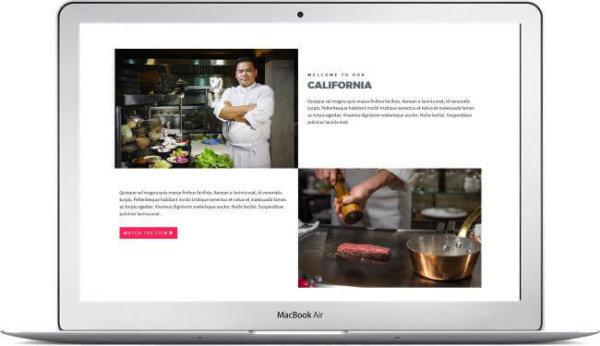 HTML Universal Webseite