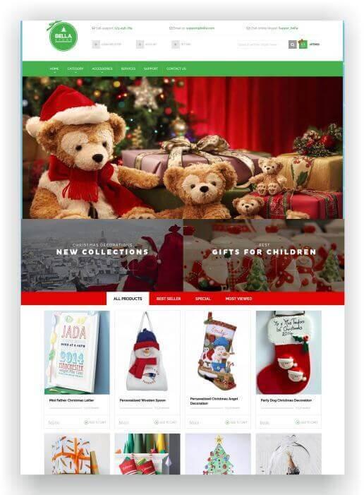 Magento Christmas Store Theme