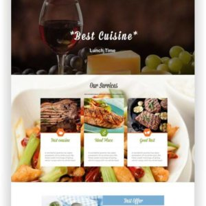 Restaurant Website with WordPress