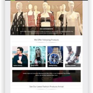 WooCommerce Fashion Onlineshop Topic