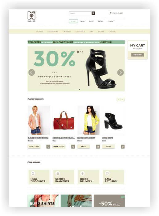 WooComerce Shoeshop Topic