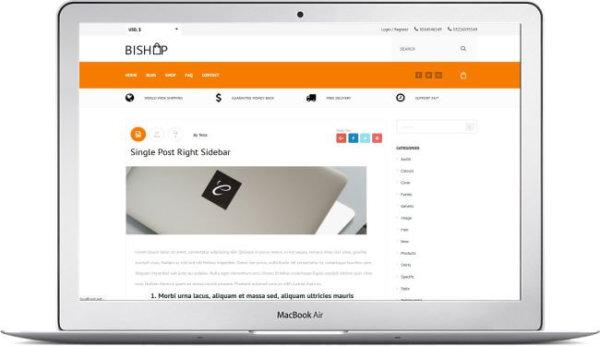 WooCommerce Shop Theme BiShop