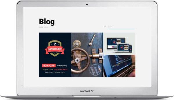 WordPress Portfolio Blog Theme